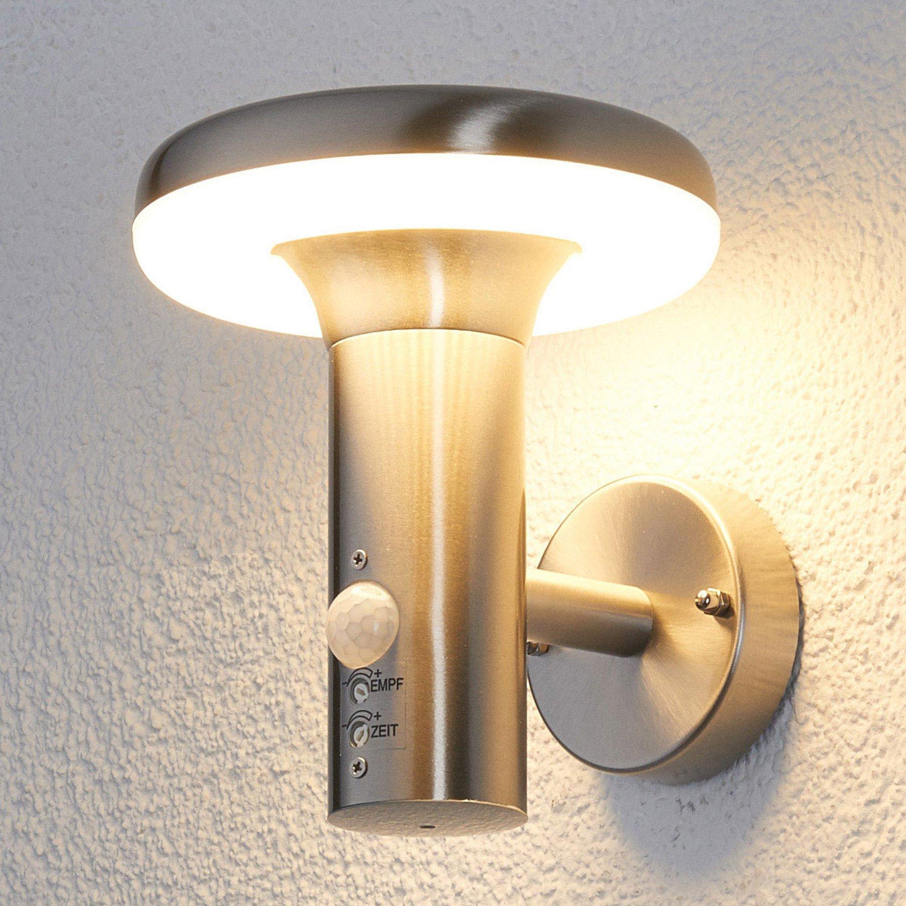 Bevegelsessensor LED-utevegglys Pepina
