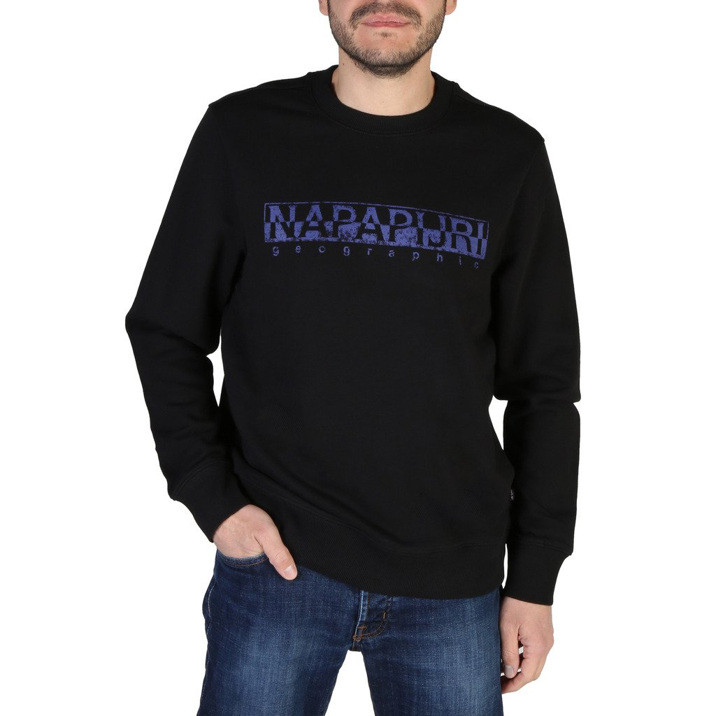 Napapijri Men's Sweatshirt Various Colours BOLANOSC_NP0A4E1Y - black S