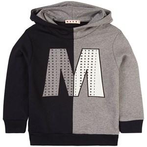 Marni Branded M Huvtröja Marinblå 4 år