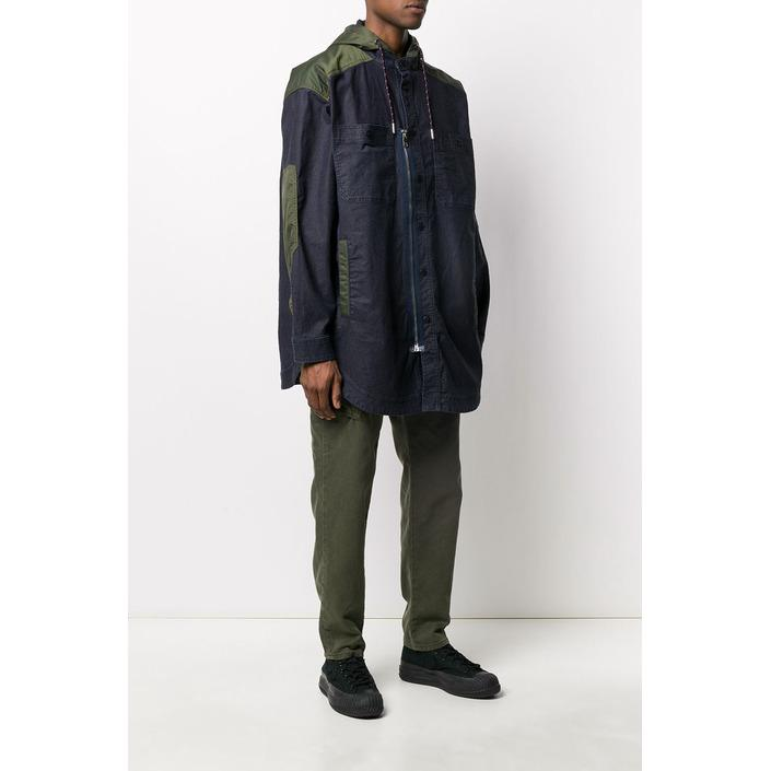 Diesel Men's Jacket Blue 320395 - blue L