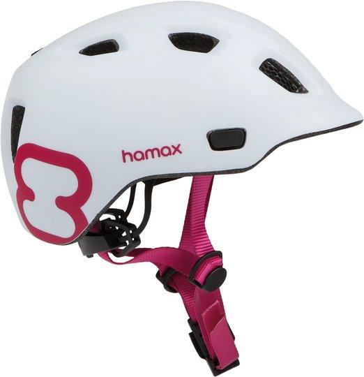 Hamax Thundercap Sykkelhjelm, Rosa S