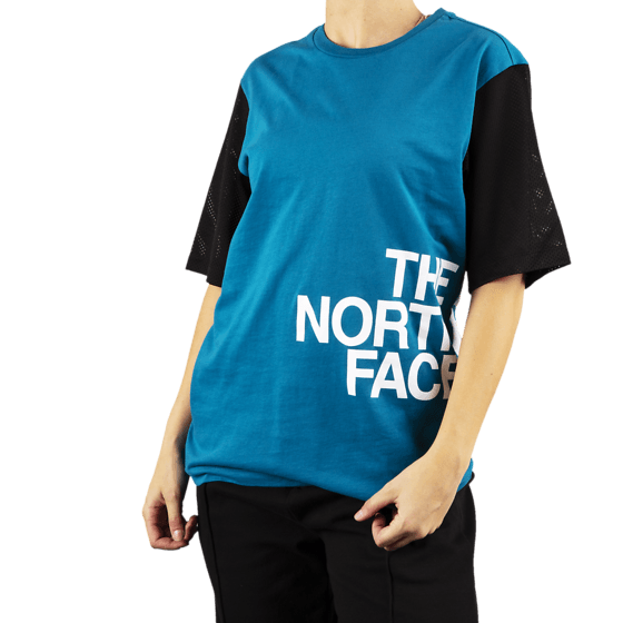 The North Face W Light S/s Tee T-shirts CRYSTAL TEAL