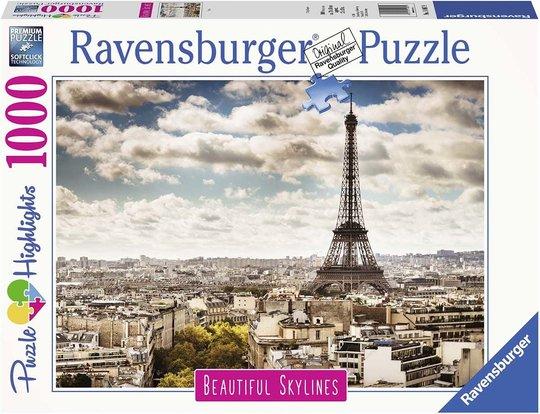 Ravensburger Puslespill Paris 1000 Brikker