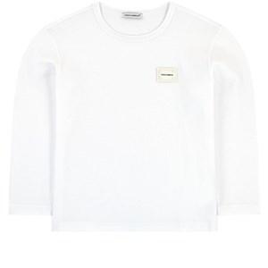 Dolce & Gabbana Mini Me Logo Tröja Vit 12 years