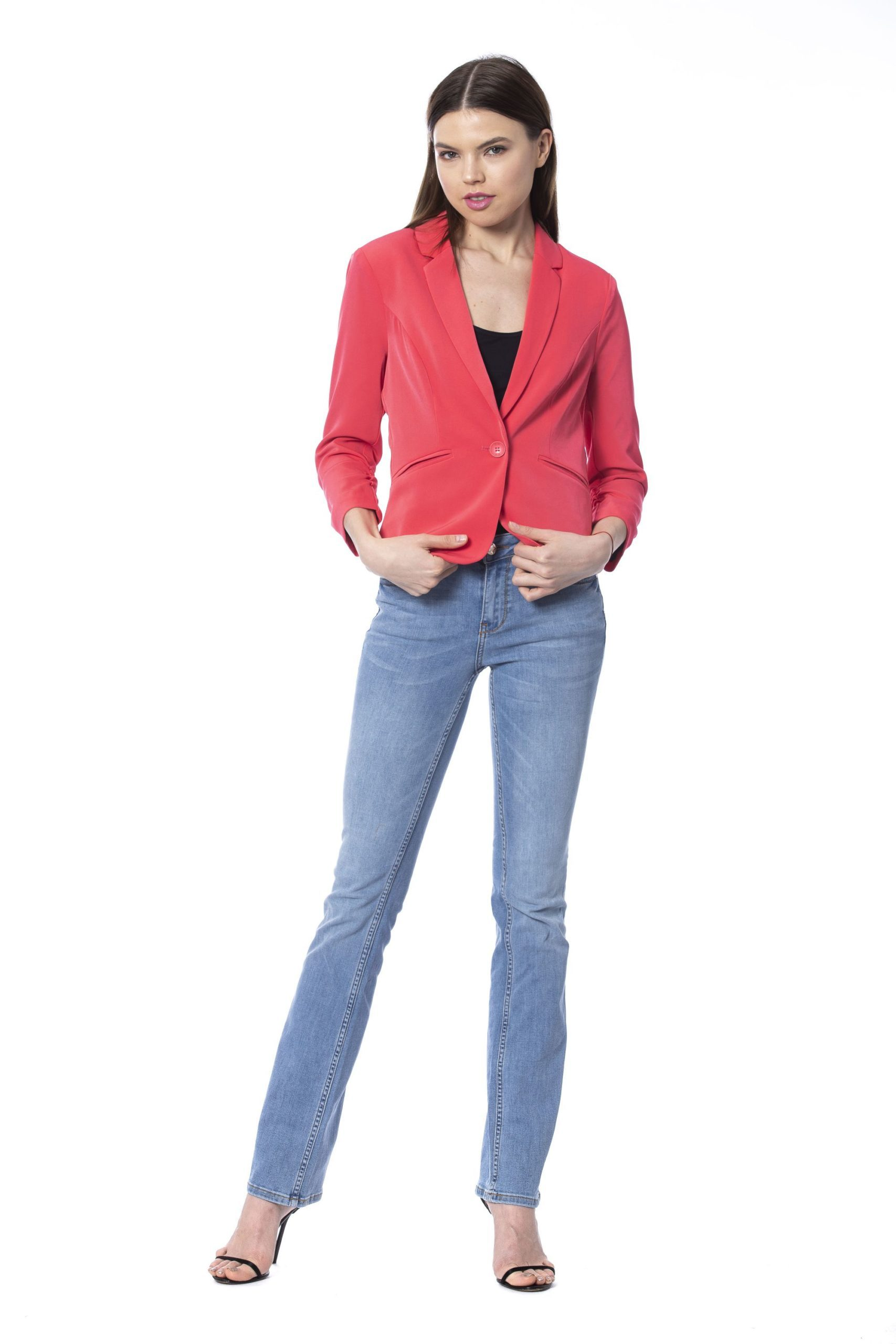 Silvian Heach Women's Formal Jacket Pink SI1264150 - S