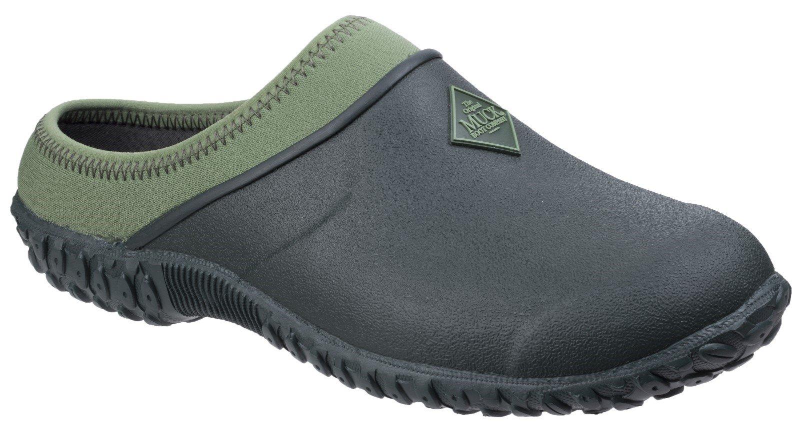 Muck Boots Women's Muckster II Gardening Clog Black Moss 26774 - Black/Moss 3