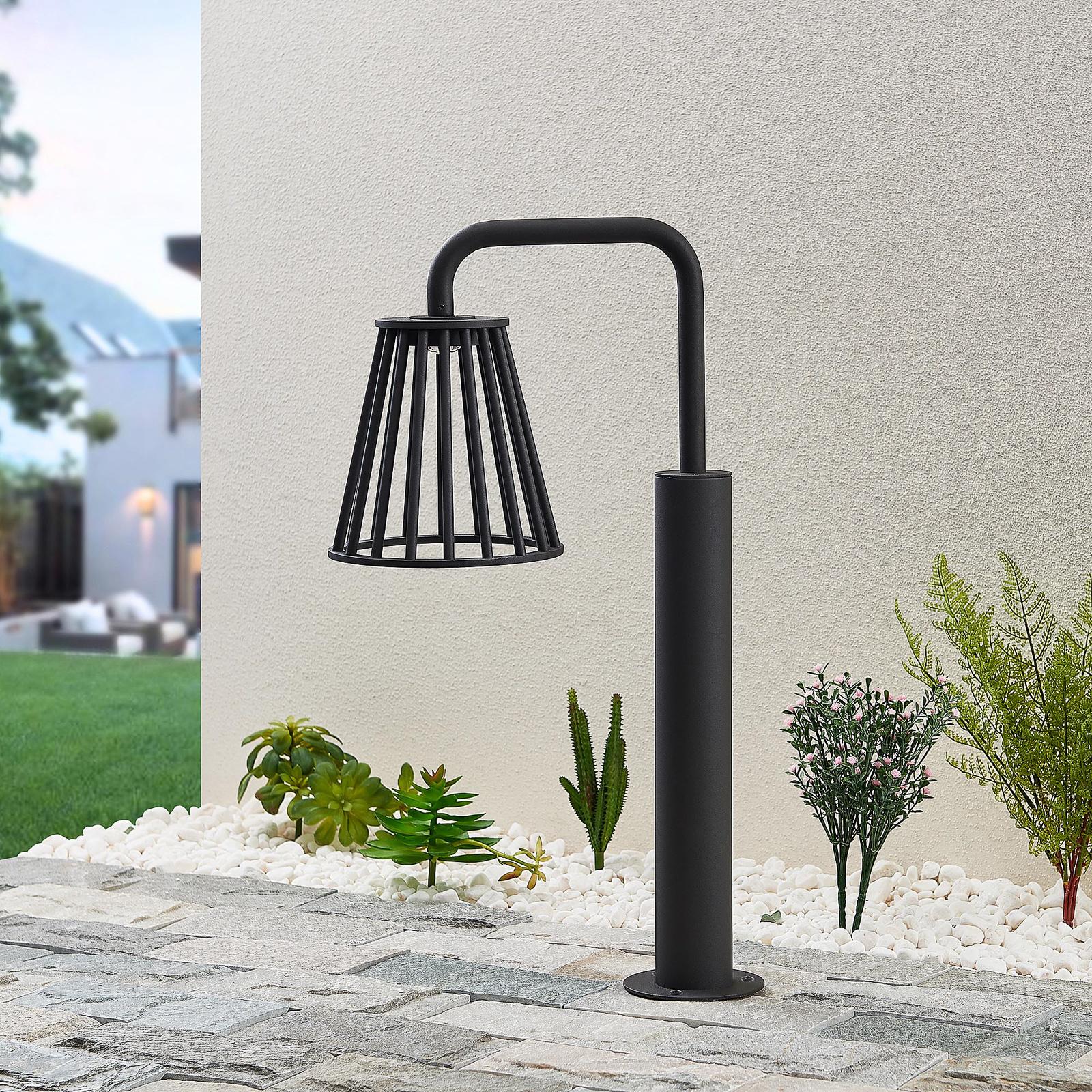 Lucande Miray -LED-ulkopylväsvalaisin, 60 cm