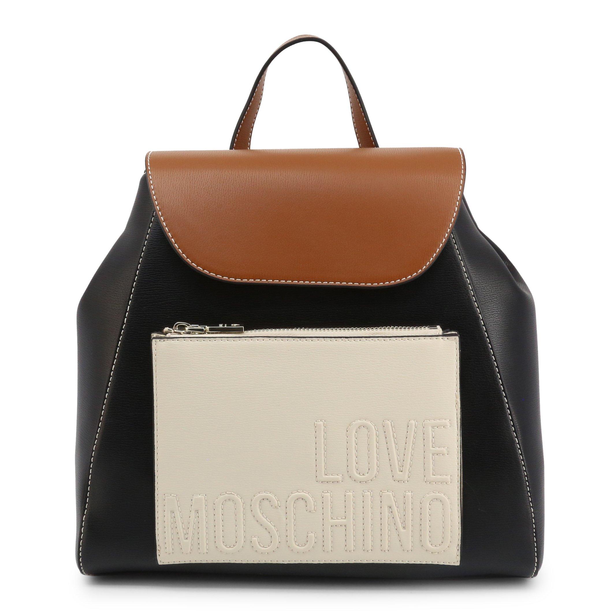 Love Moschino Women's Backpack Black JC4118PP1BLB - black-1 NOSIZE
