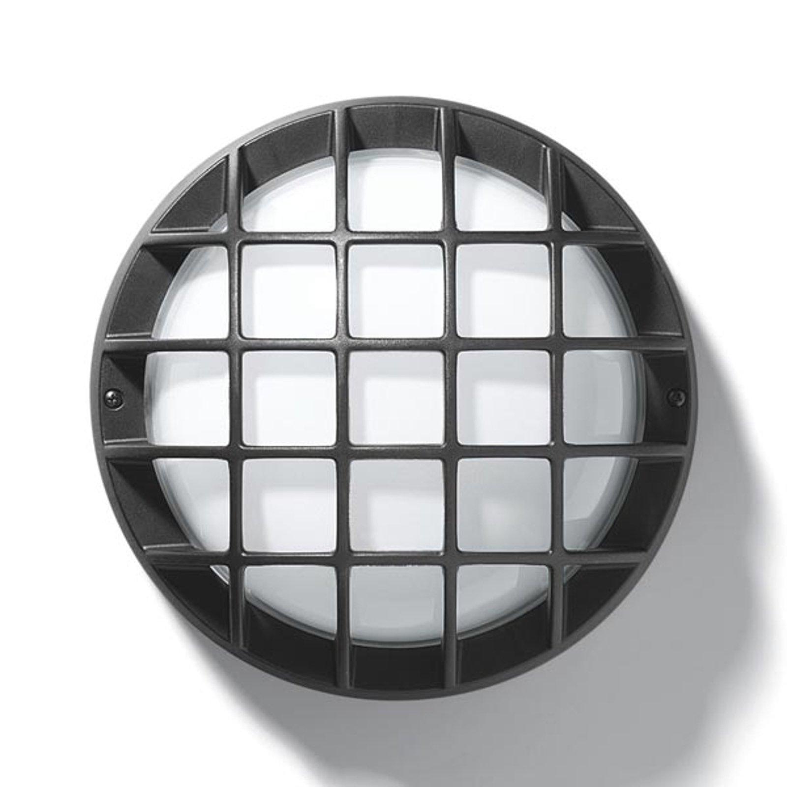 EKO 21/G vegg- eller taklampe i antrasitt