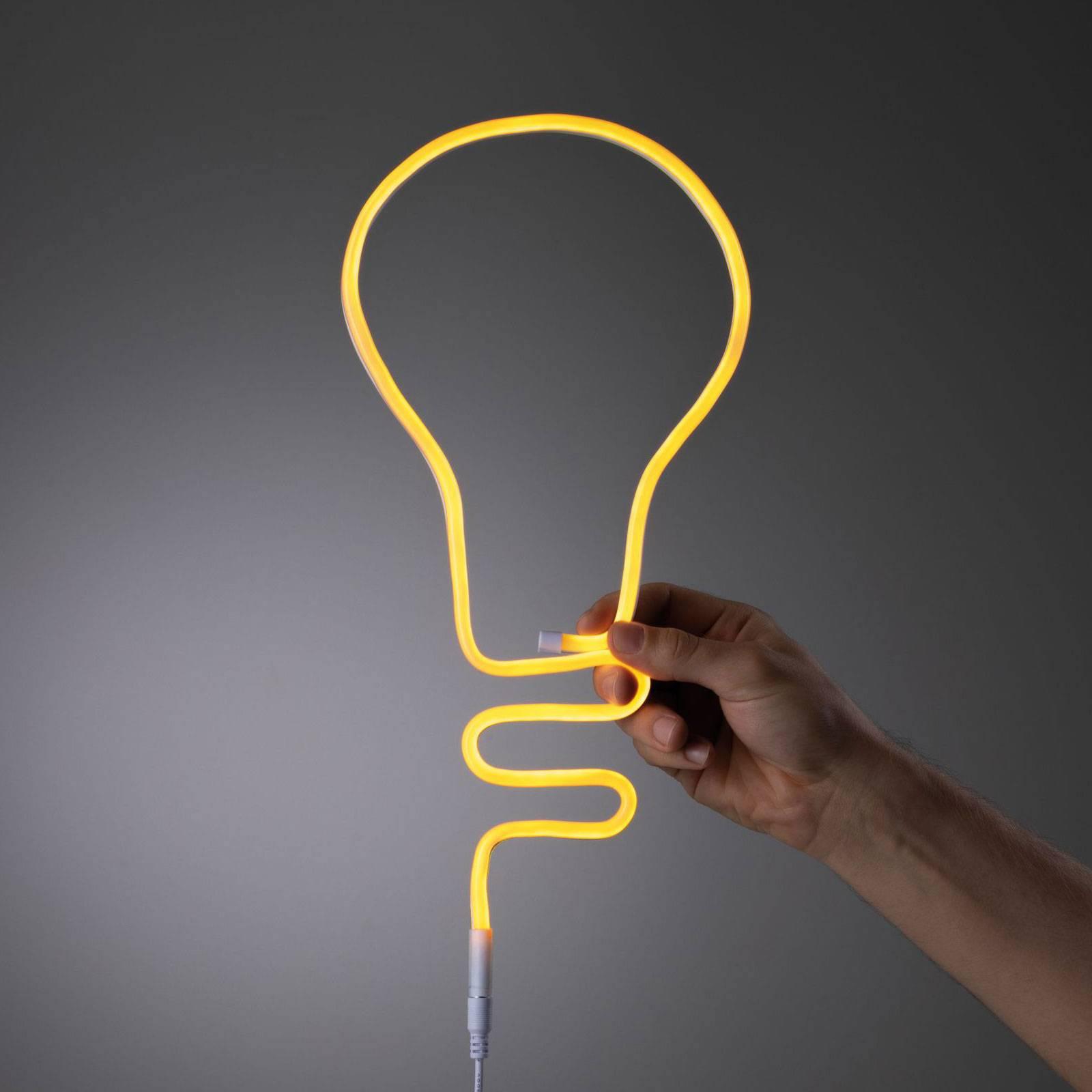 Paulmann LED-Strip Neon Colorflex USB 1m oranssi