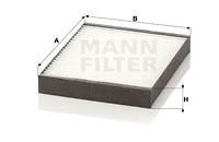 Raitisilmasuodatin MANN-FILTER CU 2513