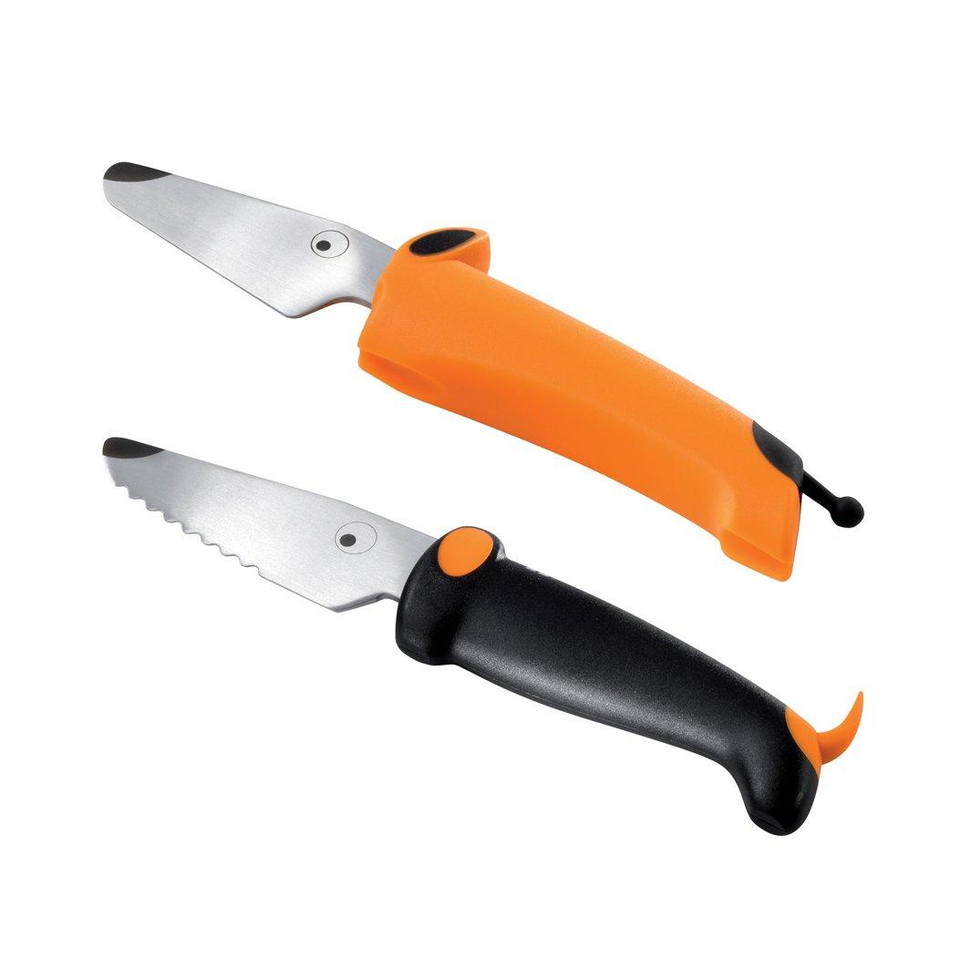 Kinderkitchen - Knife Set - Black/Orange (22284)