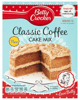 Betty Crocker Classic Coffee Cake Mix 425g