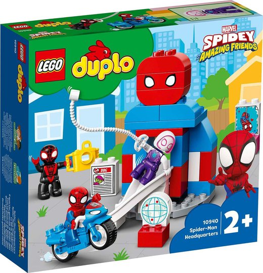 LEGO DUPLO Super Heroes 10940 Spider-Mans hovedkvarter