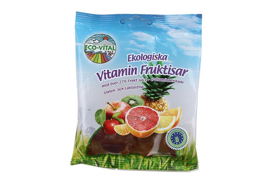 Eco-Vital Vitaminfruktisar 90g