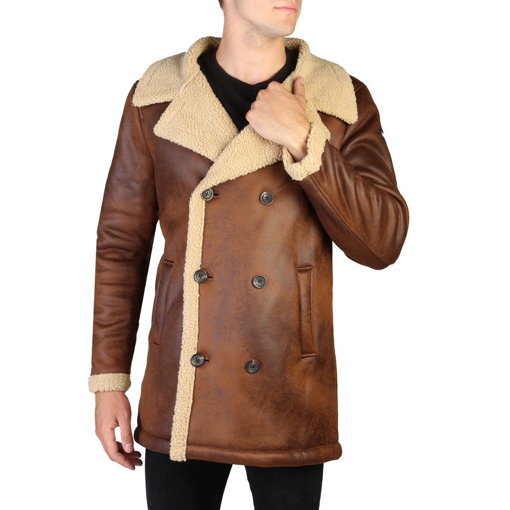 Alessandro Dell'Acqua Men's Jacket Brown 348394 - brown S