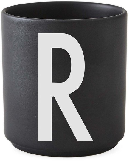 DL Kopp Porselen R, Svart