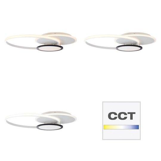 AEG Halsey LED-taklampe, CCT, dimbar