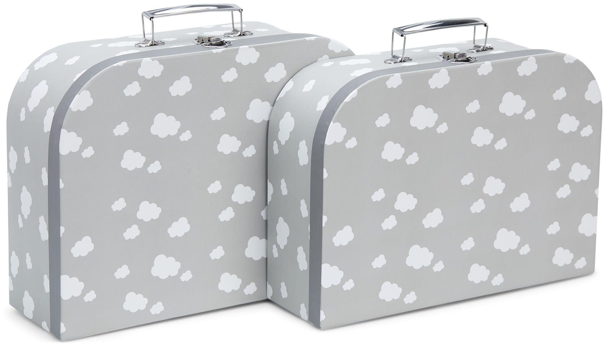 Cloudberry Castle Pahvilaukut 2-pack, Soft Grey