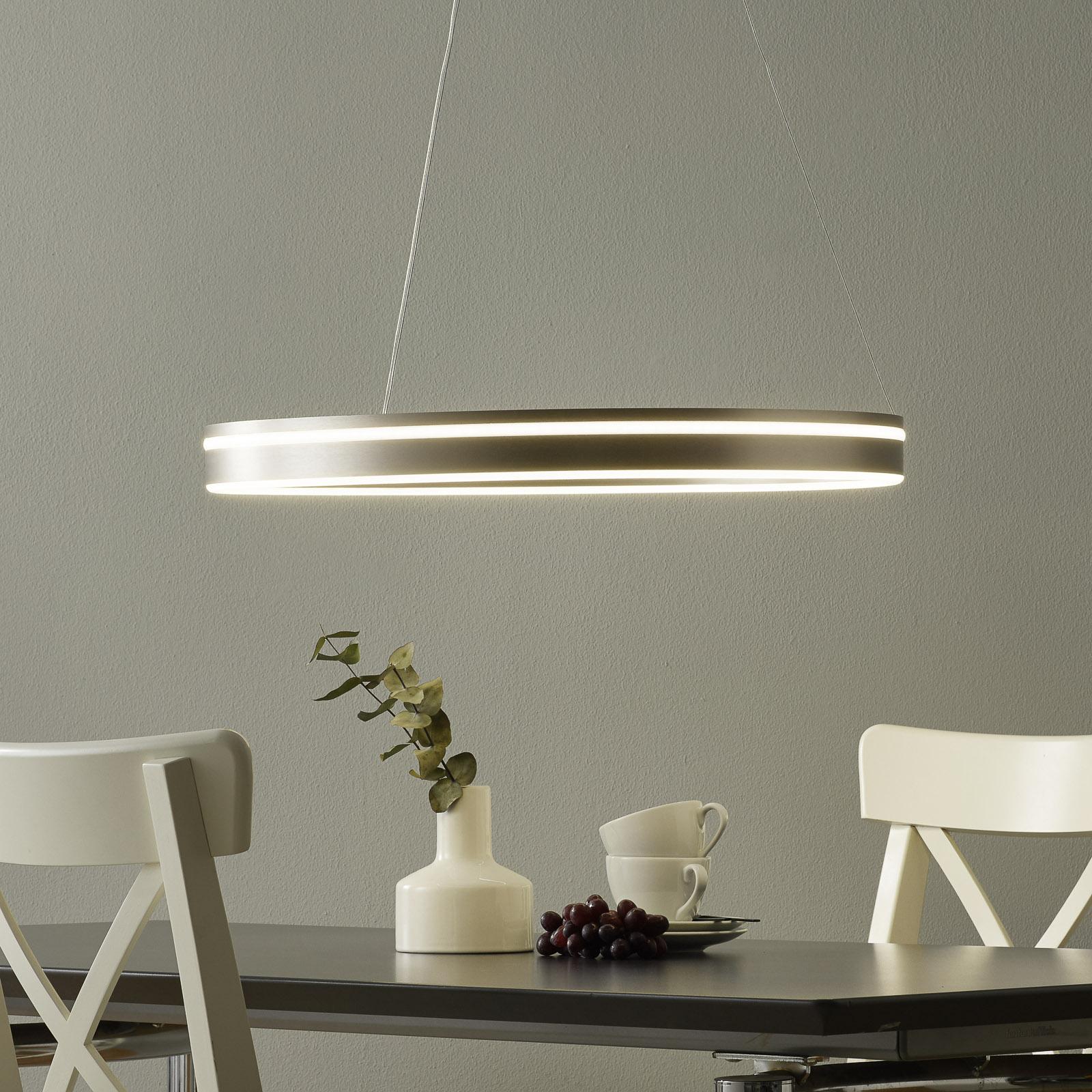 Paul Neuhaus Q-VITO LED-riippuvalaisin 59 cm teräs