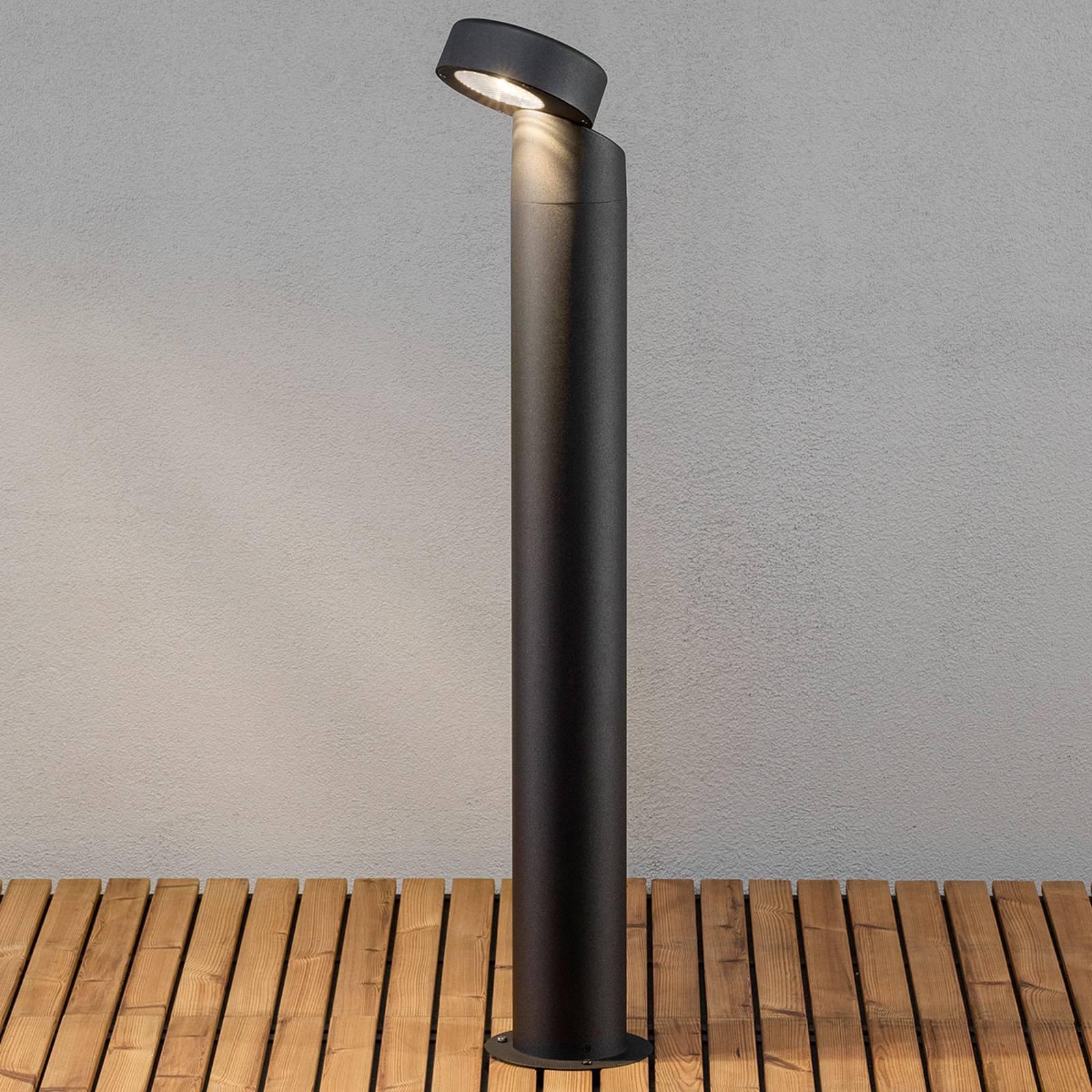 Vicenca puristisk LED-vegglampe, hode variabelt
