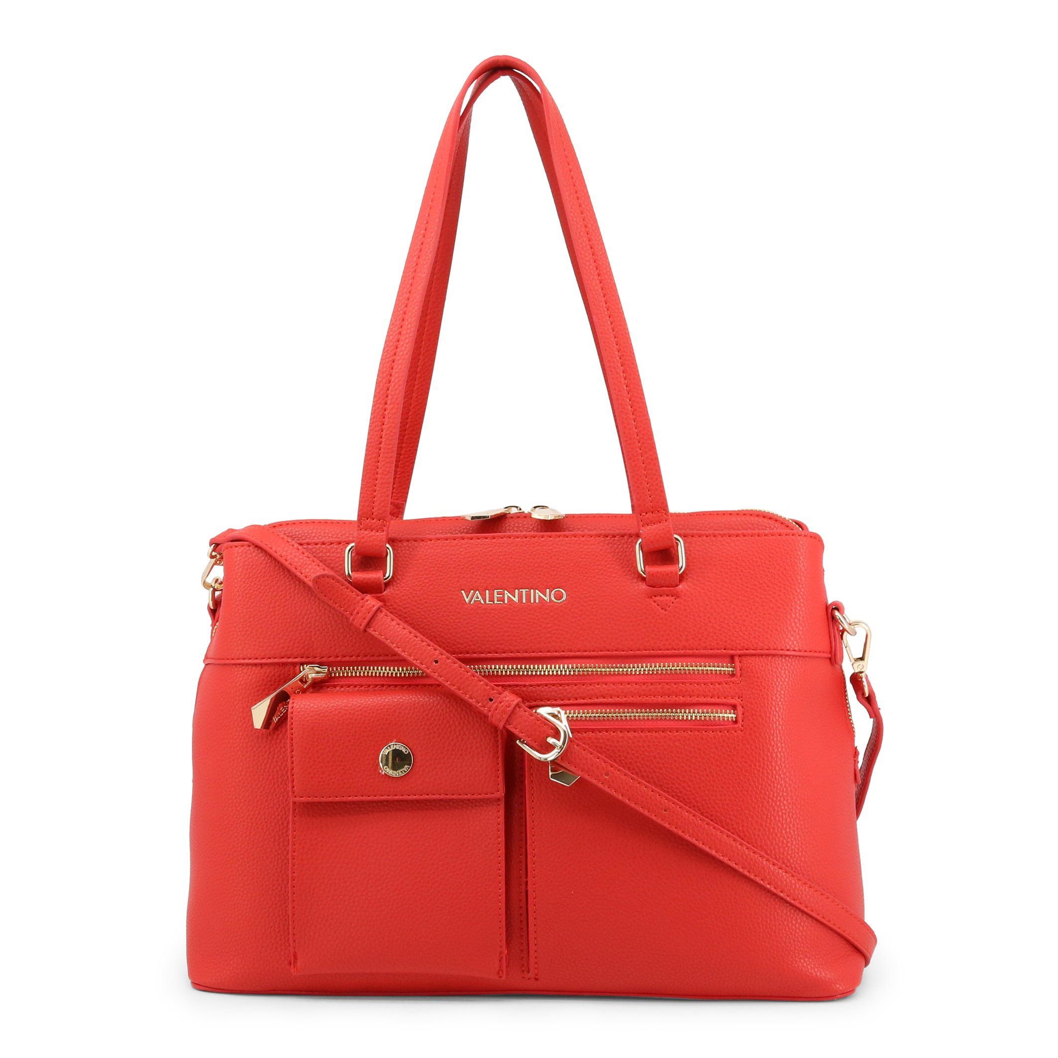 Valentino by Mario Valentino Women's Shoulder Bag Various Colours CASPER-VBS3XL05 - red NOSIZE