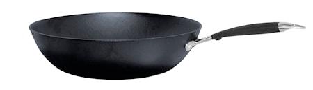 Wokpanna Gjutjärn med Skaft 32 cm