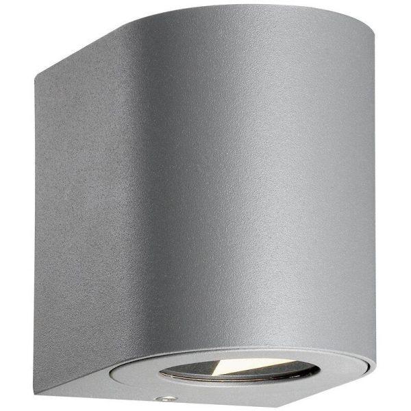 Nordlux CANTO 49701010 Seinävalaisin 2x5W LED, IP44, 2700K Harmaa
