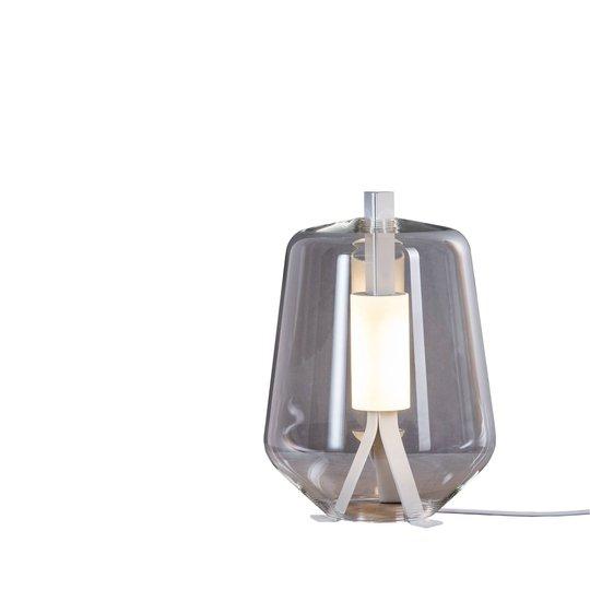 Prandina Luisa T1 bordlampe 2 700 K hvit/klar