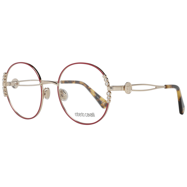 Roberto Cavalli Women's Optical Frames Eyewear Gold RC5103 52028