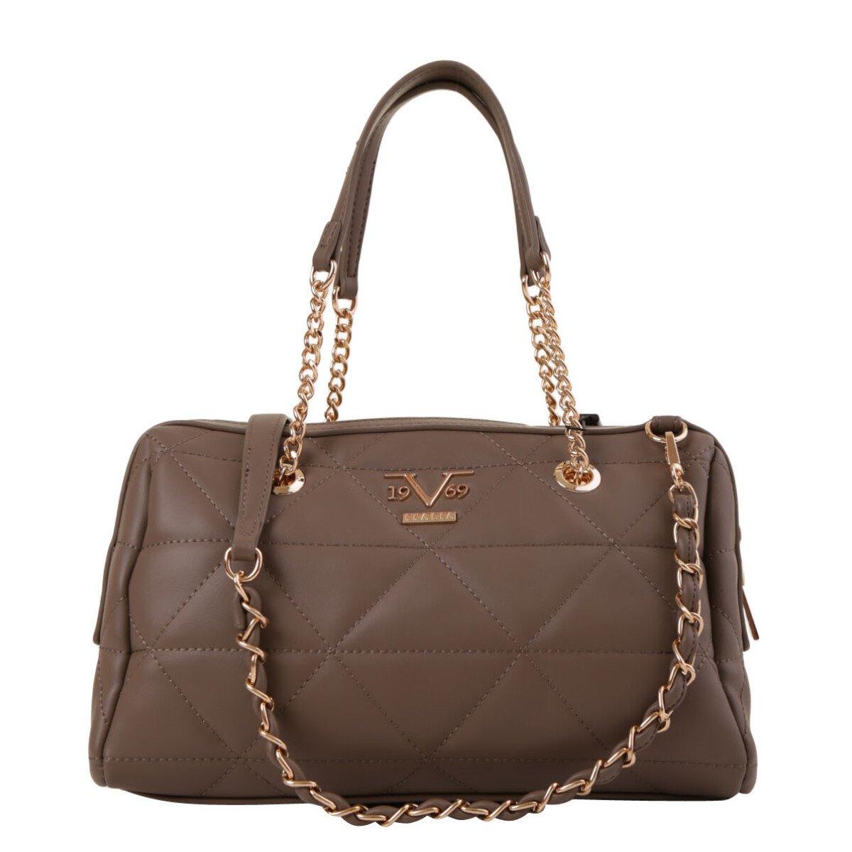 19v69 Italia Women's Handbag Various Colours 319004 - brown UNICA