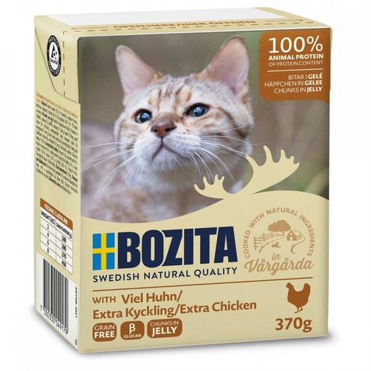 Bozita Bitar i Gelé Extra Kyckling 370 g