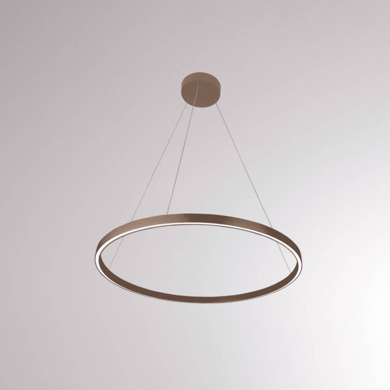 LOUM Perfora M -LED-riippuvalaisin Ø 60 cm terra