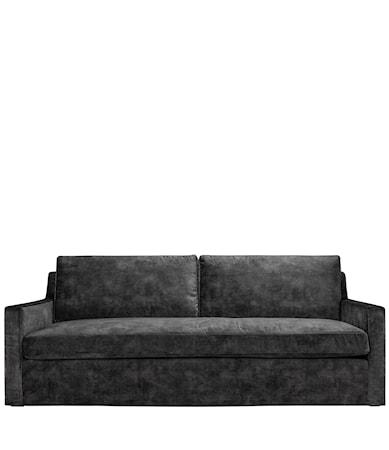GUILFORD 4-seat LC velvet dark grey