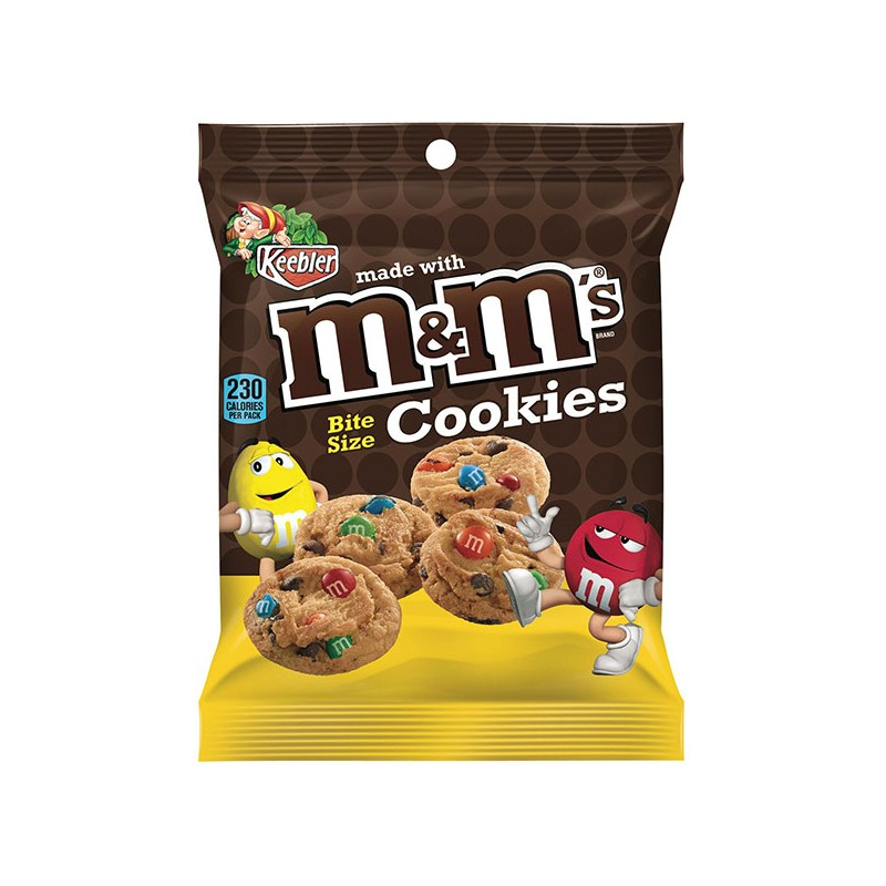 M&Ms Bite Size Cookies 45gram