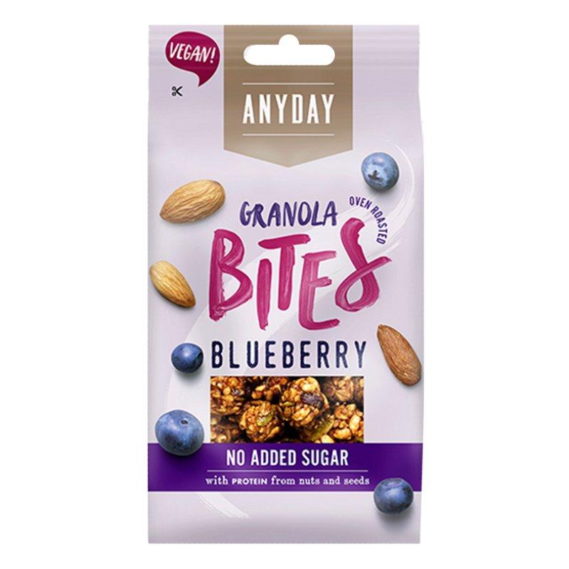 Granola Bites Blueberry 35g - 37% alennus
