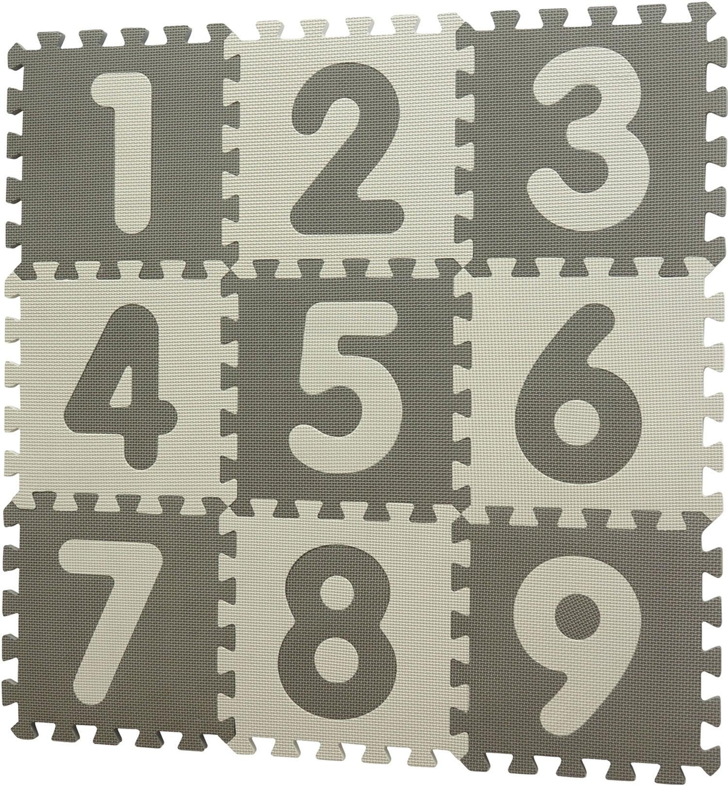 BabyDan Leikkialusta Numbers