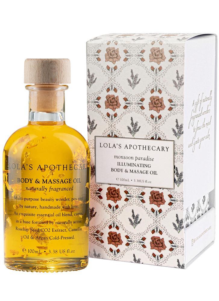 Lola's Apothecary Monsoon Paradise Body & Massage Oil