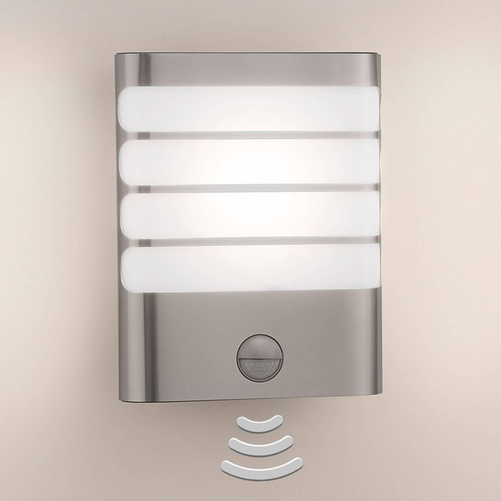Philips Raccoon LED-utevegglys rustfritt stål