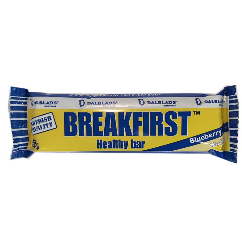 Breakfirst Healty Bar Blåbär-Vanilj - 45% rabatt