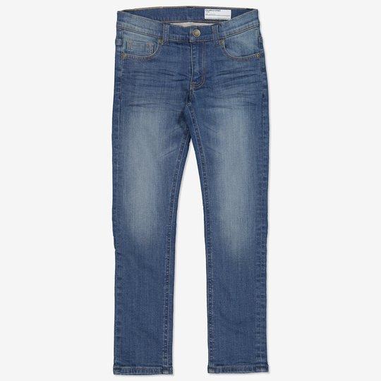 Fôret jeans smal blå denim