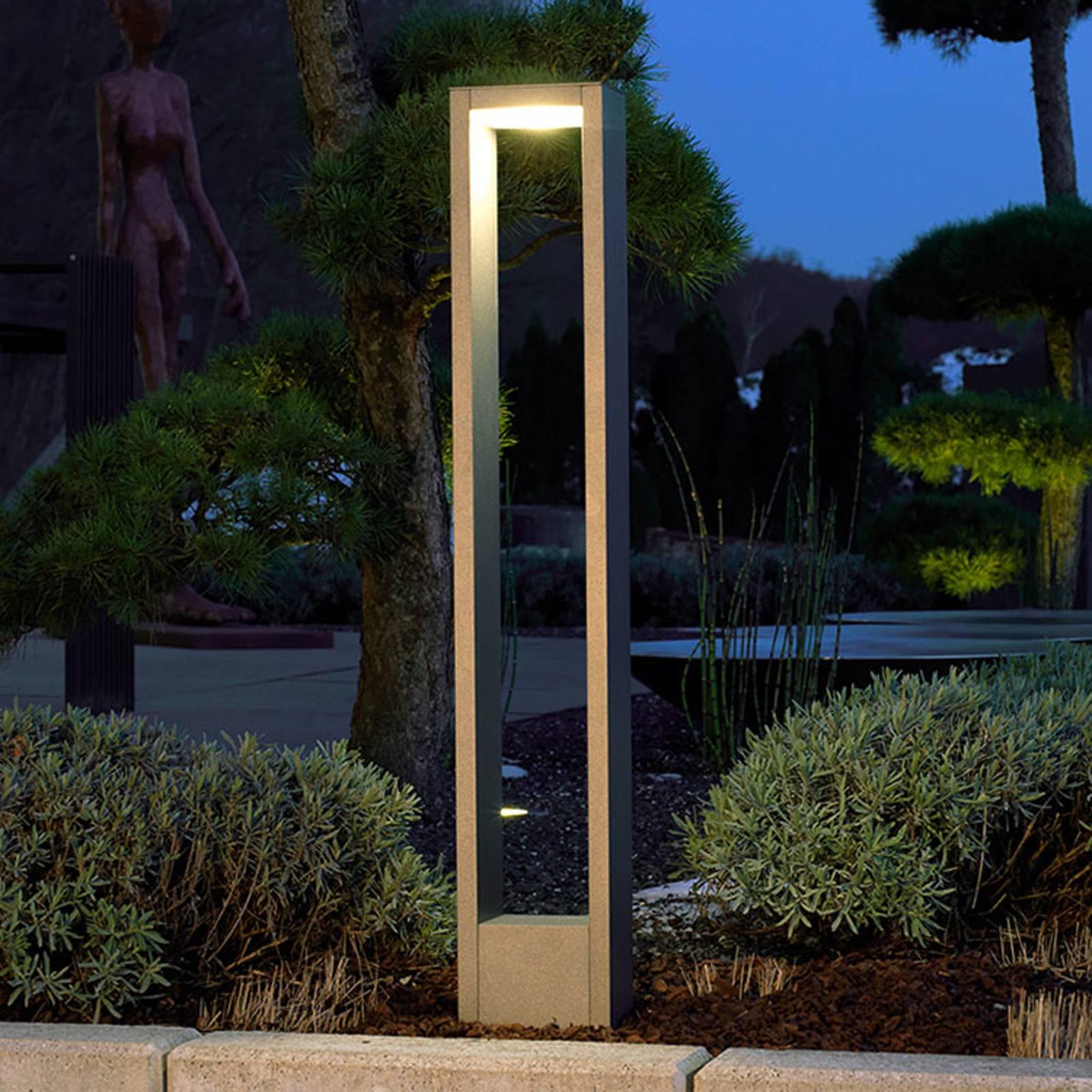 Adriana - kehysmäinen LED-pylväsvalaisin