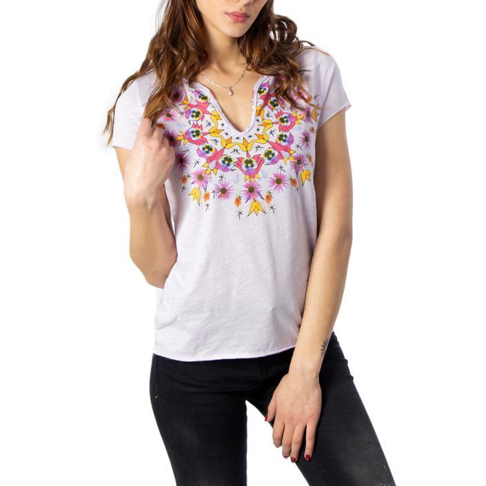 Desigual Women's T-Shirt Liliac 170562 - liliac S