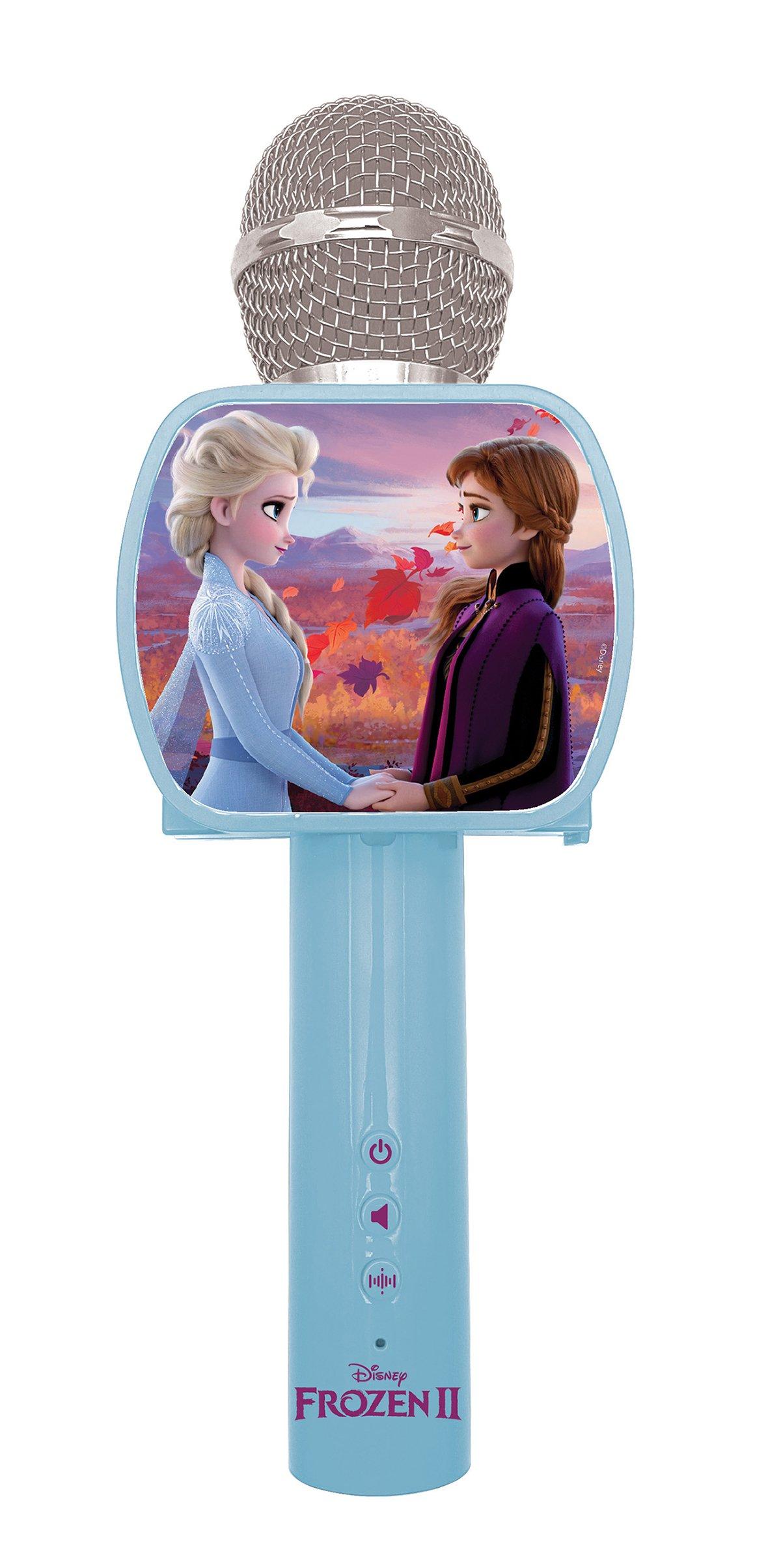 Lexibook - Disney Frozen Wireless Karaoke Microphone with Bluetooth® Speaker built-in (MIC240FZ)