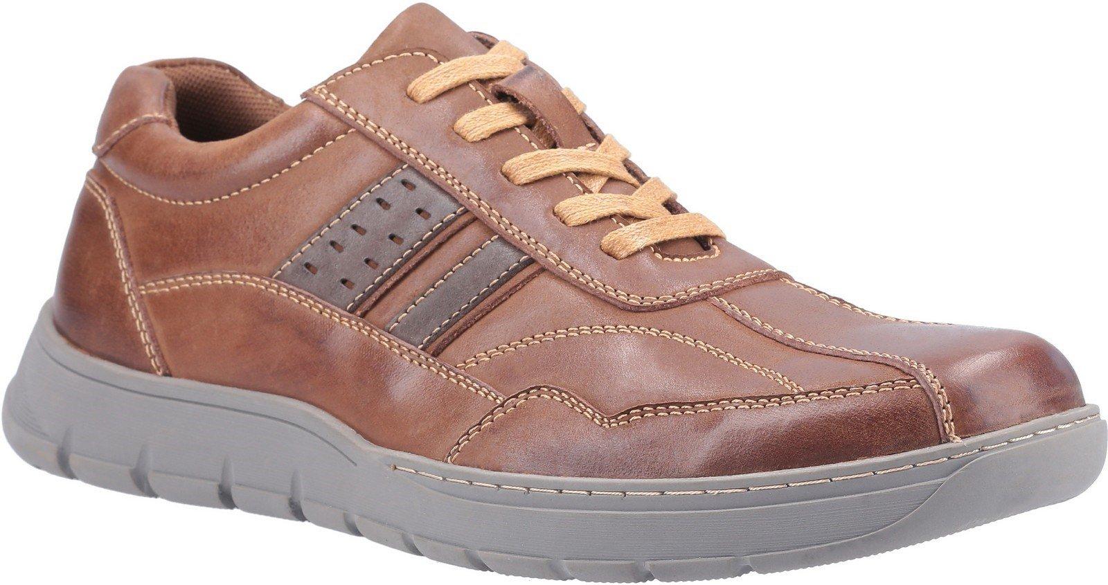 Fleet & Foster Men's Harrison Lace Up Shoe Trainer 30259-51532 - Brown 6.5