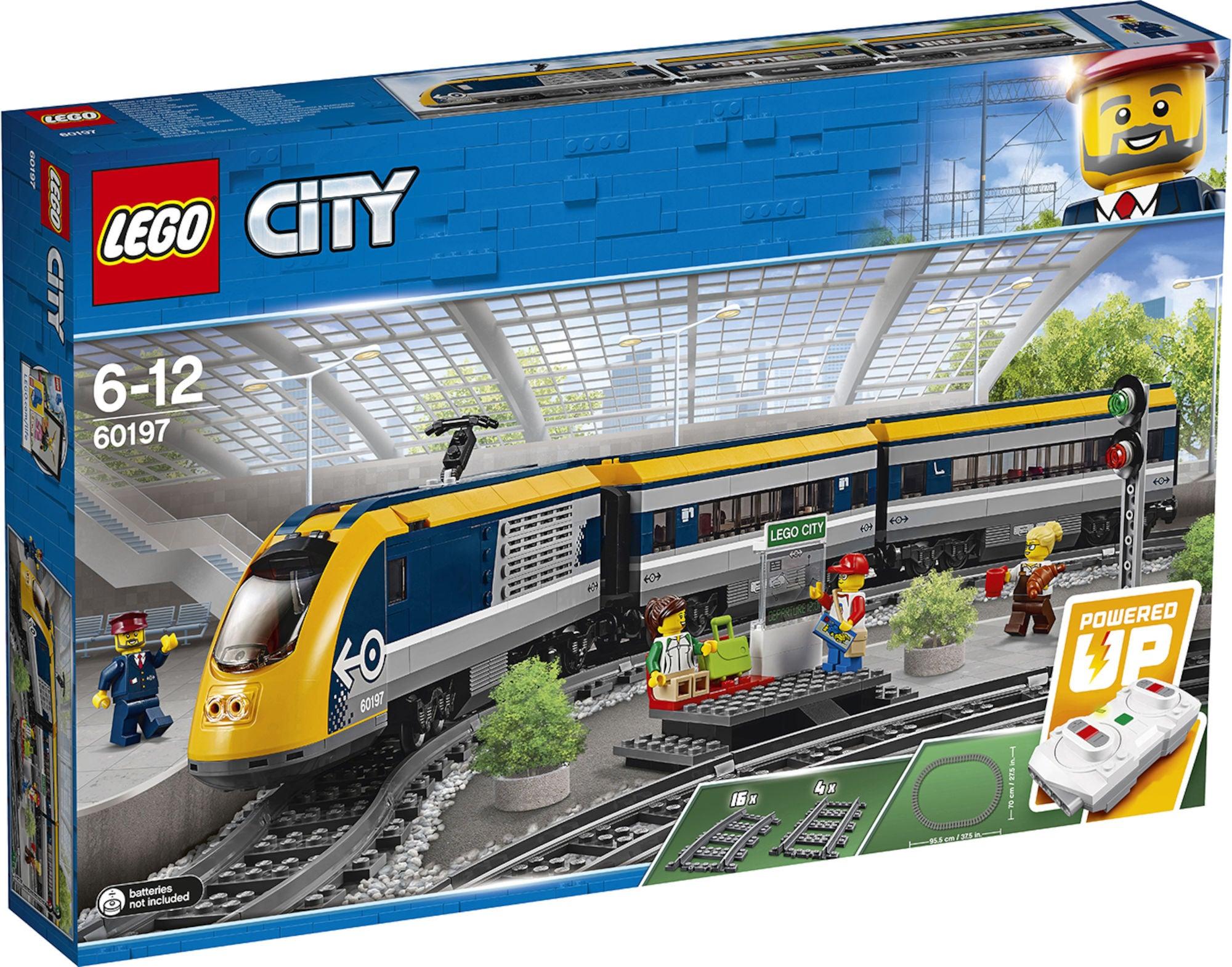 LEGO City Trains 60197 Matkustajajuna