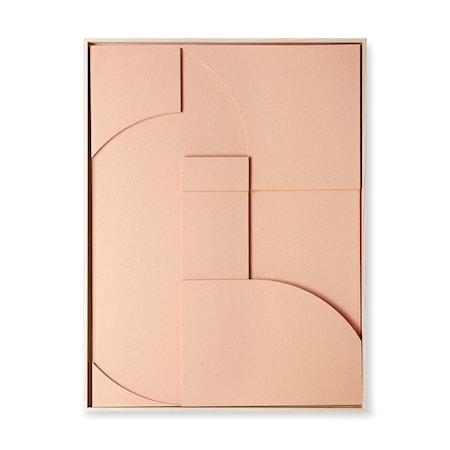 Relief art Inramad XL Peach