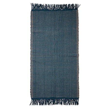 Teppe Cotton Blue 160x80 cm