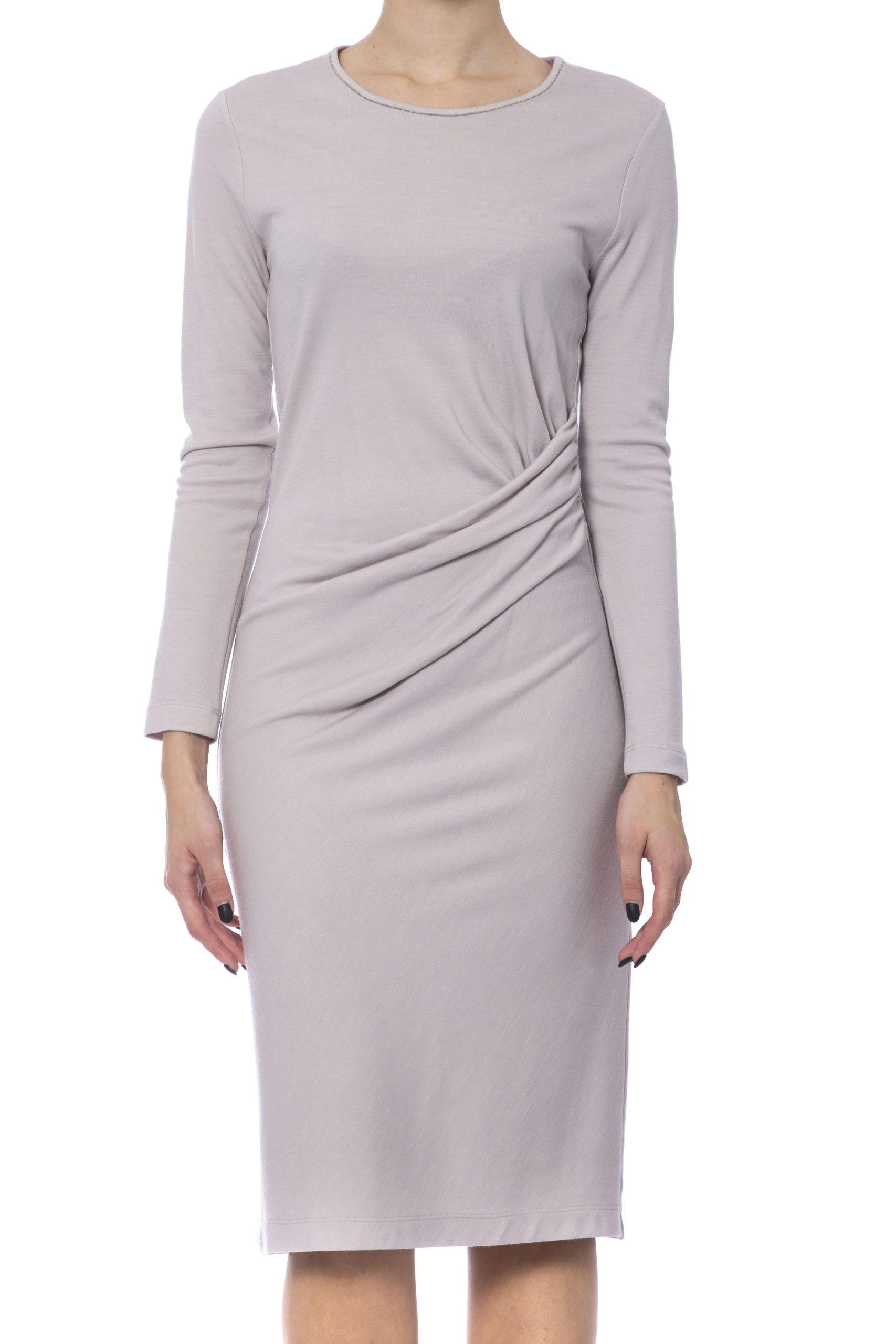 Peserico Women's Dress Beige PE992260 - IT42 | S