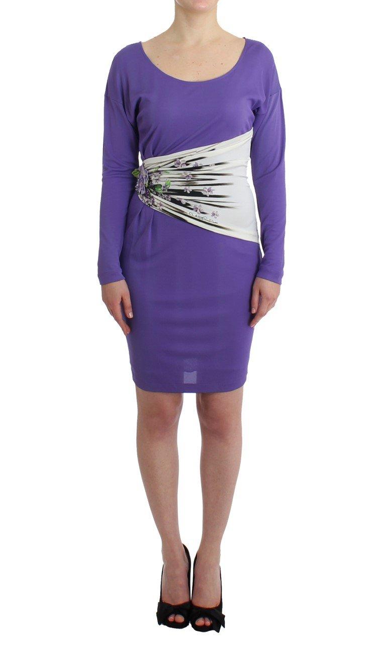Cavalli Women's Dress Purple SIG11484 - IT42|M